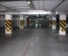 Rent a car in the underground Parking